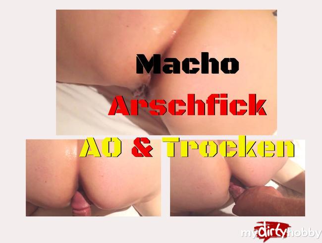 Macho - Arschfick AO und TROCKEN PUR