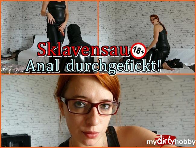 Sklavensau Anal durchgefickt !