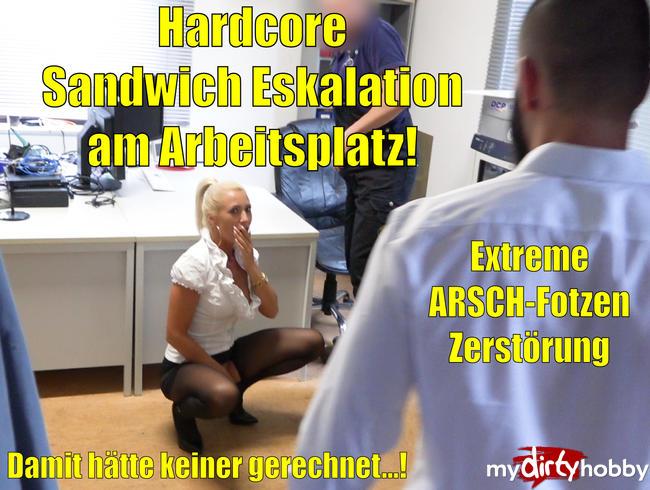 Die Hardcore Sandwich Eskalation am Arbeitsplatz   Damit hätte keiner gerechnet...! EXTREM HARDCORE!