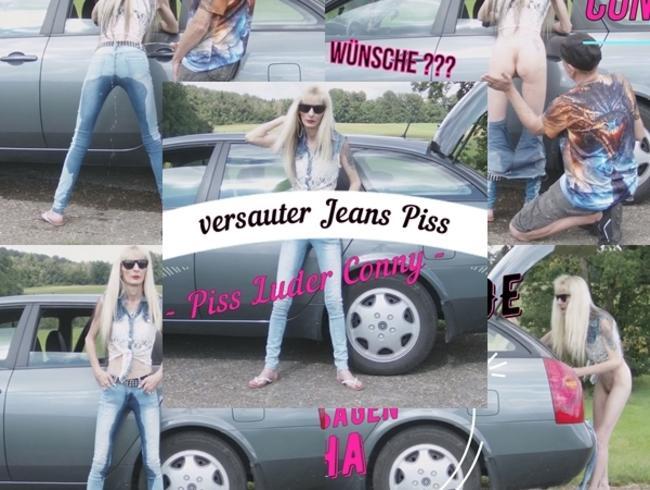 Jeans Piss wunschvideo vers 1v2