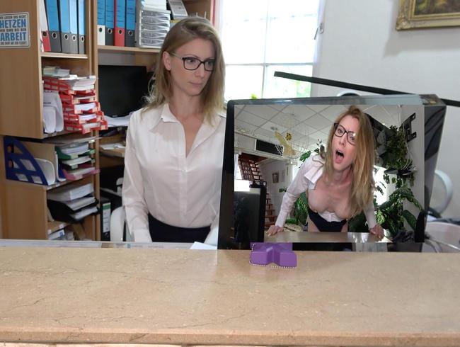 Anal Büroschlampe!