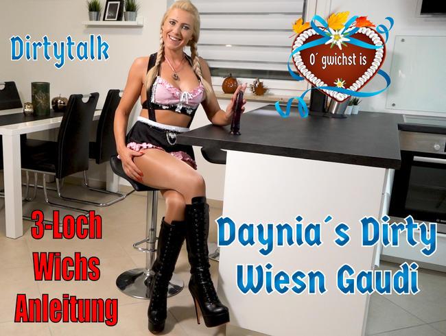 O´gwichst is   Die Dirtytalk 3-Loch Wichsanleitung mit Deiner Dirndl-Schlampe!