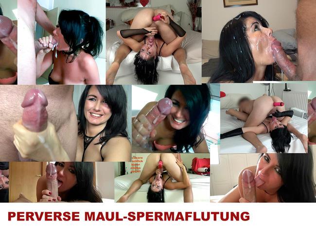 PERVERSE MAUL-SPERMAFLUTUNG! Best of