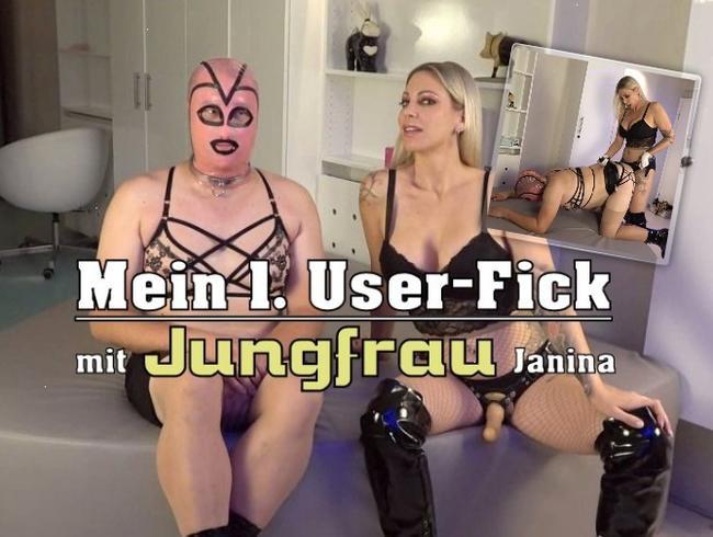 Mein 1. User-Fick mit Jungfrau Janina