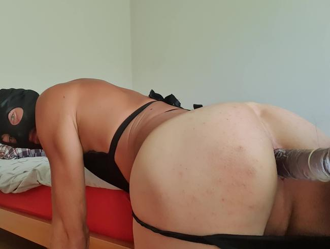 anal sex im bett eines fremden