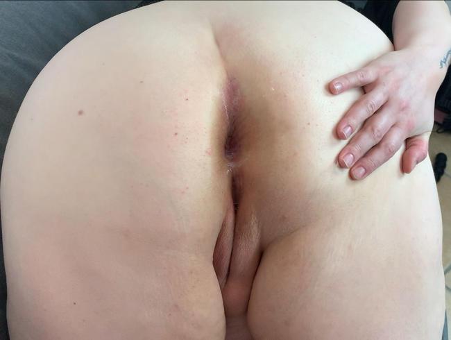 Endlich anal! Er fickt meinen Arsch POV