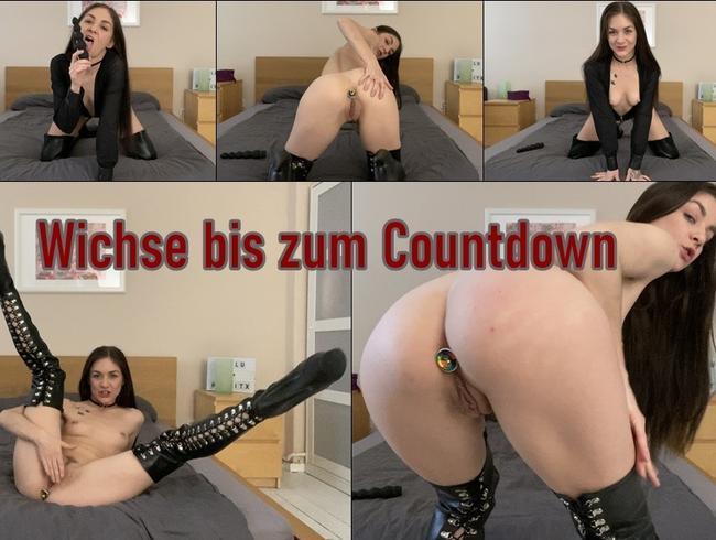 Wichse bis zum Countdown