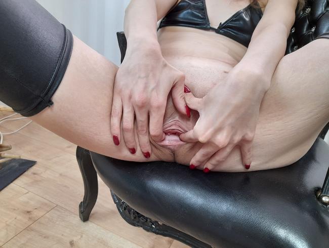 Fingern bis meine Muschi glüht....