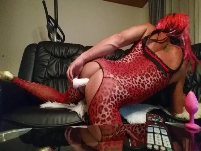 roter leo body harcore dildo anal