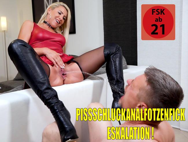 Der versaute XXL Pisseschlucker   Der Kumpel von Klaus durfte dann auch mal alle Löcher ficken...!