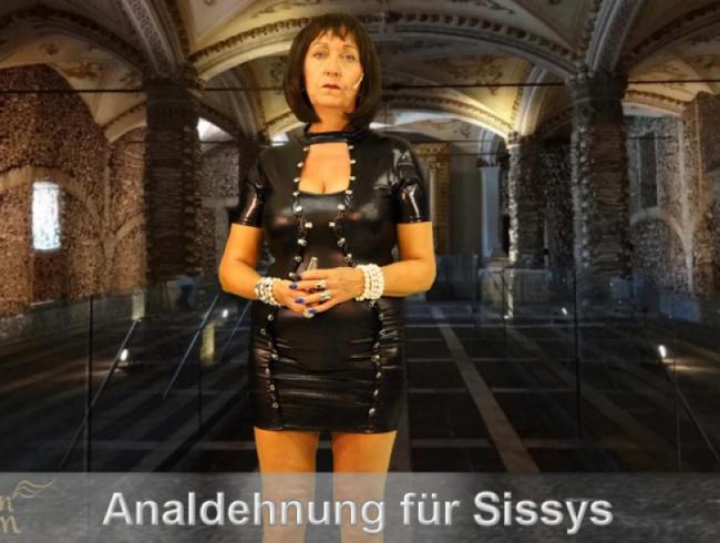 Analdehnung fu?r Sissy Sklaven