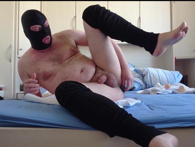 Maskierter Spaß mit dem Arschloch 4