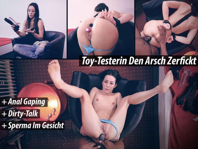 Toy-Testerin Den Arsch Zerfickt