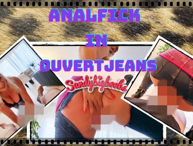Anal-Fick in Ouvert-Jeans